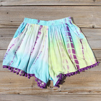 Beach Gypsy Shorts in Mint
