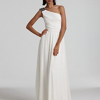 Maria Bianca Nero One-Shoulder Embellished Gown - Evening - Bloomingdales.com