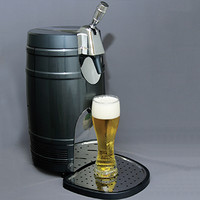 Mini Keg Cooler with Tap @ Sharper Image