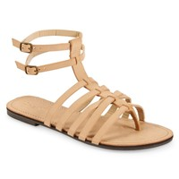 Faux Leather Gladiator Sandal