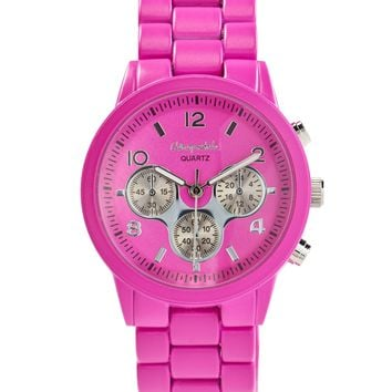 Color Metal Boyfriend Watch