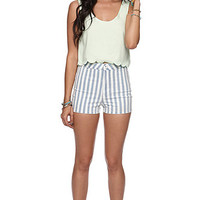 Bullhead Denim Co Uber High Rise Hot Shorts at PacSun.com