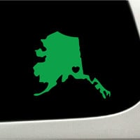Alaska | Car Decals | The Decal Guru