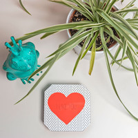 Allyson Johnson I Like You Coaster Set