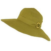 Upf 50+ Sun Beach Shapeable Packable Hat Floppy Olive