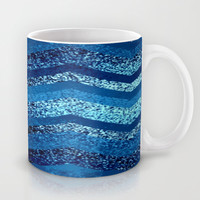sparkly and dark blue adventure Mug by Marianna Tankelevich | Society6