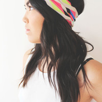 Knot Turban -- Rainbow Sprinkles