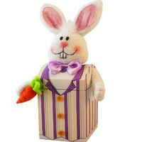 Art of Appreciation Gift Baskets Mr. Funny Bunny Easter Gift Box of Candy Treats