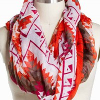 CHEVRON DIAMOND ETERNITY SCARF