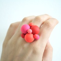 Atomium ring by ulala on Etsy