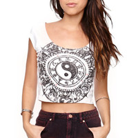 Workshop Cropped Chinese Zodiac T-Shirt at PacSun.com