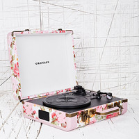 Crosley Floral Mini Turntable EU Plug - Urban Outfitters