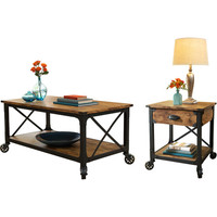 Walmart: Better Homes and Gardens Rustic Country 2 Piece Living Room Set