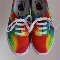Tees To Dye For — Custom Psychedelic Vans