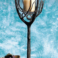 Uttermost Branch Hurricane Candleholder|19466 at livingcomforts.com