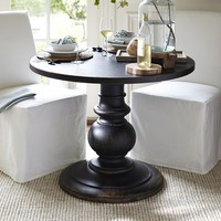 Dawson Pedestal Side Table