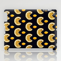 Funny Lemon Eats Lemon Pattern iPad Case by Boriana Giormova | Society6