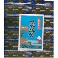 Ajitsuke Authentic Japanese Seasoned Roasted Nori Seaweed - 100 Snack Packets - Fat Free, Light Spicy Flavor - 3.4 Oz