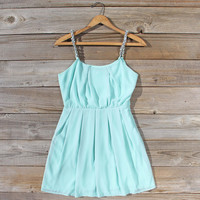 Jewel Tide Dress in Mint
