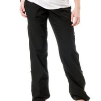 Motherhood Maternity: Secret Fit Belly(tm) Poplin Cargo Pockets Convertible Maternity Pants