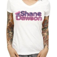 Shane Dawson Old School V-Neck Girls T-Shirt