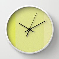 Re-Created Interference ONE No. 18 Wall Clock by Robert S. Lee