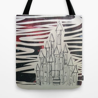 Cosmic Castle Tote Bag by Peyton Rack