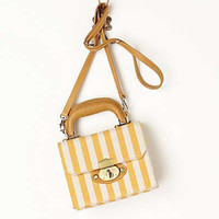 Manchester Striped Mini Satchel