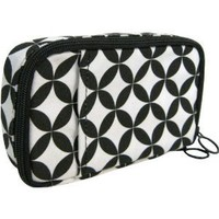 Fit & Healthy On-the-go Medical Supplies Organizer, Black Diamond, 4x7.5x1.5 Inches