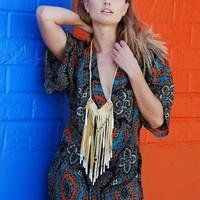 The Cascading Fringe Necklace
