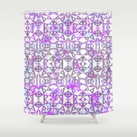 Mix #564 Shower Curtain by Ornaart