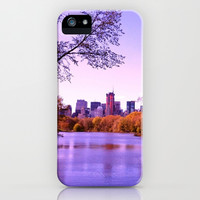 Central Park iPhone & iPod Case by Anna Andretta