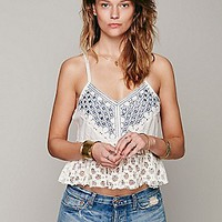 Free People Womens Mirror Strappy Tank - Black,