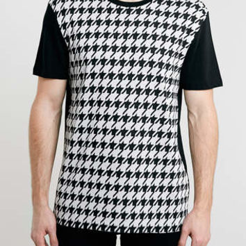 DOGTOOTH JAQUARD T-SHIRT - Men's T-shirts & Tanks - Clothing