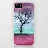 ATMOSPHERIC TREE - Winter Sun iPhone & iPod Case by VIAINA