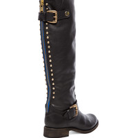 Steve Madden Lynet Boot in Black