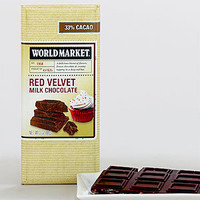 World Market Red Velvet Milk Chocolate Bar | Food| Food & Drink | World Market