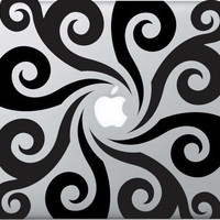 Macbook Decals by Gadget Decal CurlyWurly by GadgetDecalDotCom