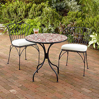 Red Lily Cadiz Mosaic Bistro Collection | Outdoor and Patio Furniture| Furniture | World Market