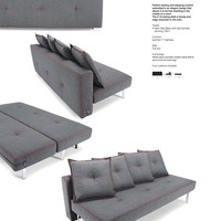 Sly Z10 Full Size Sofa - &amp;#36;1146,65 - INNOVATION - Denmark - Sofa beds -  NY Living room -  Furniture by Duval Group