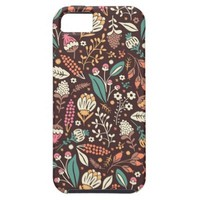 Girly Sweet Floral Pattern iPhone 5 Case