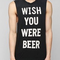 UNIF Wish You Were Beer Tee - Urban Outfitters