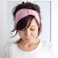 Dusky Pink Headband by ChiChiDee on Etsy