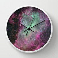 Like We're Made of Starlight Wall Clock by Tangerine-Tane
