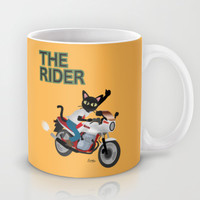 The Rider Mug by BATKEI | Society6
