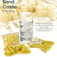SAND CASTLE ICE CUBE TRAY