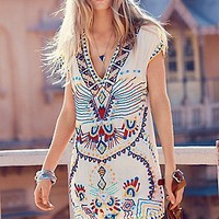 Echoing Ella Beaded Dress