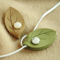 Leaf Earphone Organizer