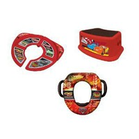 Disney Soft Potty, Travel Potty and Step Stool Combo Set