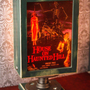 House on Haunted Hill 5x7 lamp by morbiddecor on Etsy